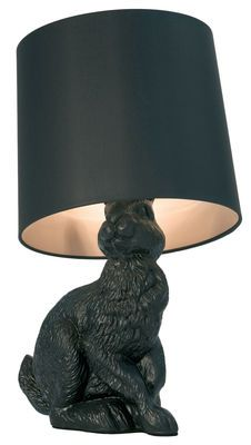 Adorable Rabbit table lamp. I will have it! (cute animal lamp)