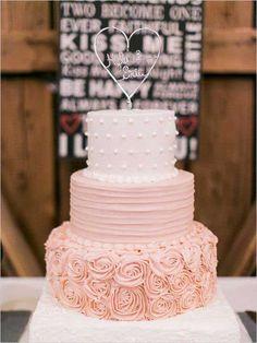 Pasteles de colores para boda | ActitudFEM