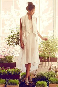 Gauze Maxi Dress - anthropologie.com