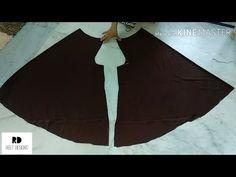 Circular Palazzo Cutting and Stitching Girls Dresses Sewing, Dress Sewing Patterns, Sewing Patterns Free, Sewing Clothes, Fashion Sewing, Diy Fashion, Stitching Classes, Harem Pants Pattern, Simple Pakistani Dresses