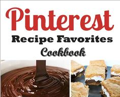 PINTEREST Recipe Favorites Cookbook  Great GIFT by luluwilliams, $14.00
