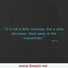 Eliminate the unnecessary