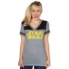 ThinkGeek :: Star Wars 77 Logo Ladies' Tee
