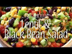 Yum & Yummer | Lentil & Black Bean Salad