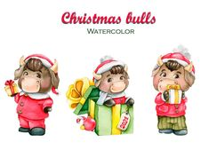 Hand Images, Us Images, Christmas Clipart, Christmas Images, Cow Ornaments, Types Of Packaging, Watercolor Images, Your Design, Clip Art