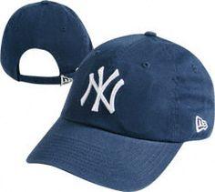 New York Yankees Women's Essential 940 Primary Logo Adjustable Hat $17.99 http://www.fansedge.com/New-York-Yankees-Womens-Essential-940-Primary-Logo-Adjustable-Hat-_638659216_PD.html?social=pinterest_pfid41-95578