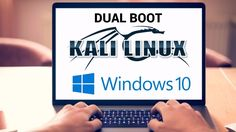 How To Dual Boot Kali Linux and Windows 10 in just 6 Minutes 💻