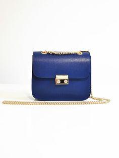Mini Italian genuine leather shoulder bag by TuscanyLeatherIdeas