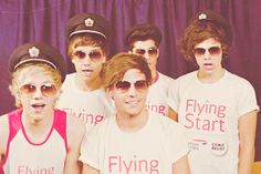 OMK! i've gotta say Niall, Liam, Zayn and Harry look really good in those hats <3