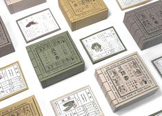 The Book of Seed on Packaging of the World - Creative Package Design Gallery Japanese Packaging, Tea Packaging, Food Packaging Design, Packaging Design Inspiration, Brand Packaging, Invitation Card Design, Japanese Design, Bottle Design, Design Reference