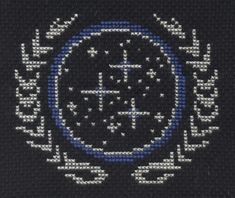 Federation cross stitch by Lil-Samuu.deviantart.com on @DeviantArt