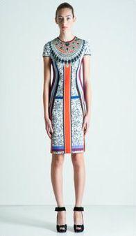 Clover Canyon printed dress.