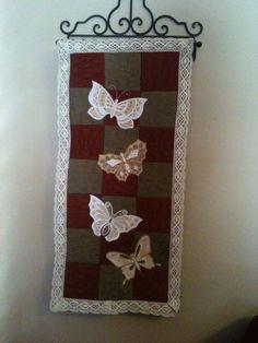 Butterfly wall hanging, yep, Anita Goodesign.