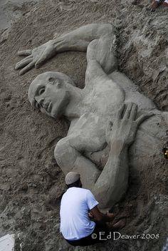 Sand Art V by edeevo, via Flickr