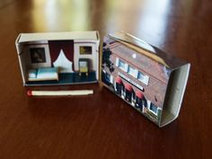 THE BRASSEY HOTEL    A regular matchbox is given a makeover to become a cute tiny version of the great buildings of Canberra Australia. A