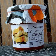 Confiture butternut à la fève de Tonka