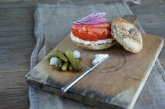 A proper New York bagel New York Bagel, Healthy Recipes, Cheese, Fresh, Kitchen, Food, Cooking, Kitchens, Essen