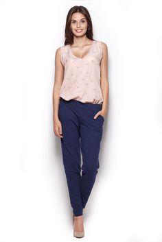 Dark Blue Comfy Hipster Long Pants #Leggings #Pants