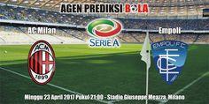 Prediksi Milan vs Empoli 23 April 2017