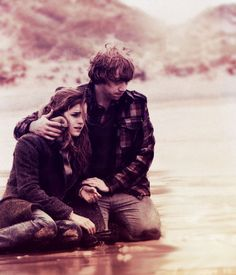 I think Ron and Hermione's relationship (from Harry Potter) is beautiful. They both are friends and end up being closer than ever. She corrects him and he messes with her, they are perfect. They really did live, and they can say that they did in fact marry their best friend. Each other. ❤️