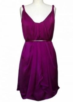 Designer Dress in Purple.