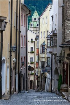 Hall in Tirol Austria Tirol Austria, Vienna Austria, Hall In Tirol, Beautiful Streets, Where To Go, Continents, Places To Go, National Parks, Germany