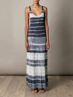 VELVET Laura tie-dye maxi dress
