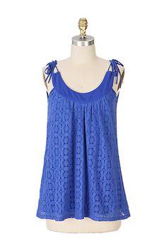 6ba563cc80742 crochet lace swing top  anthropologie Swing Top