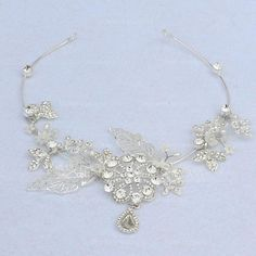 Forehead Jewelry Wedding Special Occasion Party Crystal Rhinestone Glass Metal 7.09