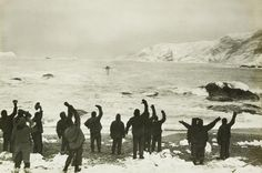During Ernest Shackleton's first expedition to Antarctica from 1901-1903, he and his crew...