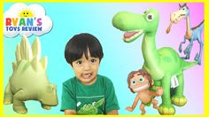 awesome THE GOOD DINOSAUR TOYS Arlo Spot Bubbha toys for kids children toddlers Ryan ToysReview