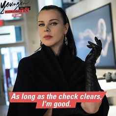 How to get through the work week. Click to discover Debi Mazar in the latest episodes of Younger on TV Land.