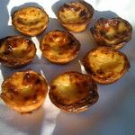 """Portuguese """"Pastel de Nata"""". A must. Coming out of the oven every day at breakfast @hoteldomgoncalo in Fatima, Portugal. www.hoteldg.com #Hotel #Food #Portugal"""