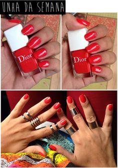 Vermelho Dior