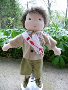 """16"""" Eagle Scout, Order of the Arrow, by Noble Doll Studio, via Flickr"""