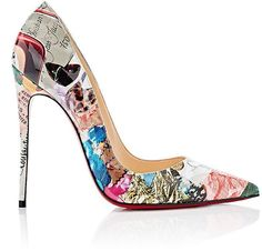 Christian Louboutin OFF! Christian Louboutin Women's So Kate Patent Leather Pumps. Very high heel spectacular color and print! Stilettos, High Heels Stiletto, Pumps Heels, Louboutin Pumps, Low Heels, Christian Louboutin So Kate, Patent Leather Pumps, Adidas Superstar, Beautiful Shoes