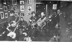 The Dubliners in O' Donohues 1960
