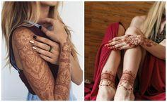Tatuajes de henna hindu