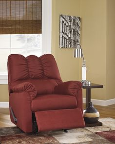 Matching rocker recliner is available