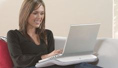 Logitech Comfort Lapdesk (white/grey) $34.99 (236 customer reviews)
