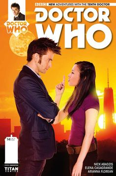 Titan Comics - Doctor Who: The Tenth Doctor #14 (Photo Cover)