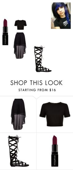 """""""Kaylen Michealis"""" by kaylenfernandes on Polyvore featuring Ted Baker, Steve Madden and Smashbox"""