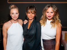 Star Tracks: Friday, November 6, 2015 | POWER WOMEN | Talk about an incredible troupe of ladies! Kaley Cuoco, Halle Berry and Chrissy Teigen attend Thursday's Fallout 4 video game launch event in L.A.