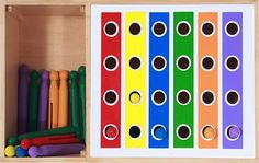 website has a series of these - great for fine motor and eye/hand coordination