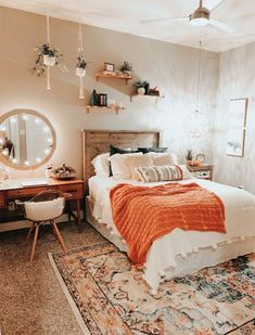 Cute Bedroom Ideas, Room Ideas Bedroom, Bedroom Designs, Bedroom Inspo, Small Bedroom Ideas For Women, Bedroom Inspiration Cozy, Bedroom Pics, Bedroom Images, Bedroom Apartment