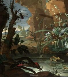 Абрахам Миньон (Abraham Mignon, 1640-1679, German-Dutch painter) - Старинный натюрморт в деталях \4\. Обсуждение на LiveInternet - Российский Сервис Онлайн-Дневников