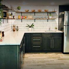 Aqua Kitchen Cabinets & Countertops Sale in Wayne,NJ Kitchen Cabinets And Countertops, Black Kitchen Cabinets, Kitchen Cabinetry, Black Kitchens, Luxury Kitchens, Granite Countertops, Aqua Kitchen, Cozy Kitchen, Kitchen And Bath Showroom
