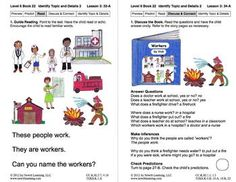 Identify Topic and Details 2: Lesson 3, Book 22 (Newitt Nonfiction Series)