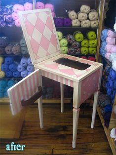Revamp An Old Sewing Cabinet And Piano Chair Into An