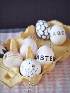 'E A S T E R' eggs... by lilliundlotta.blogspot.de